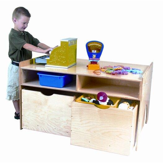 Wood Designs Store-N-Play Table