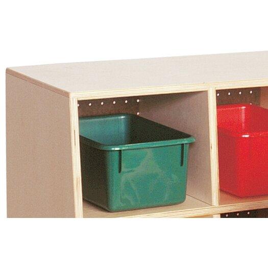 Wood Designs Tip-Me-Not Five Section Locker