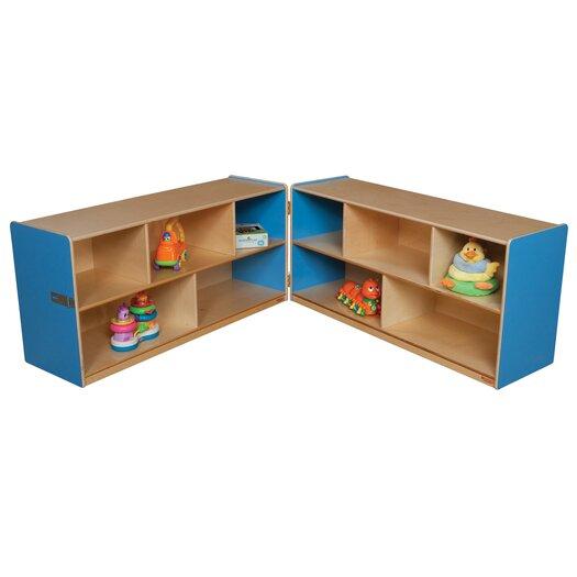 "Wood Designs 24"" Folding Storage Unit"