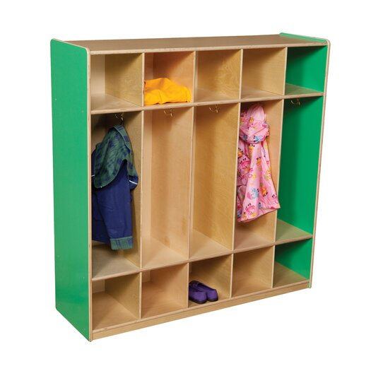 Wood Designs 5-Section Locker