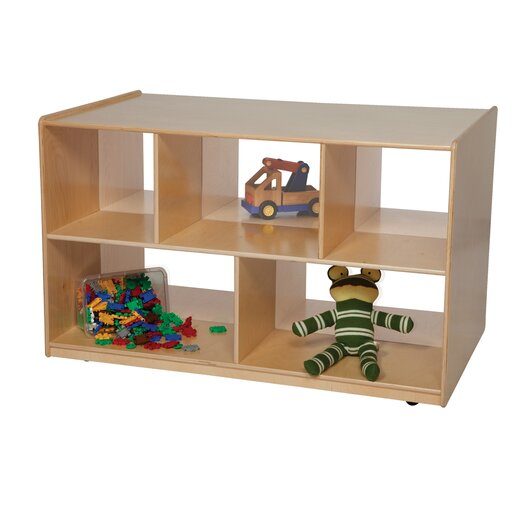 """Wood Designs Natural Environment 30"""" Double Storage Island"""