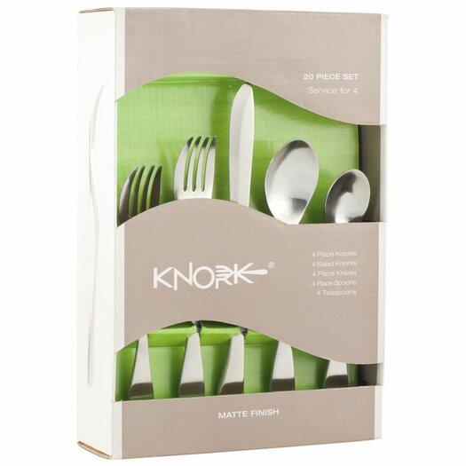 Knork 20 Piece Flatware Set