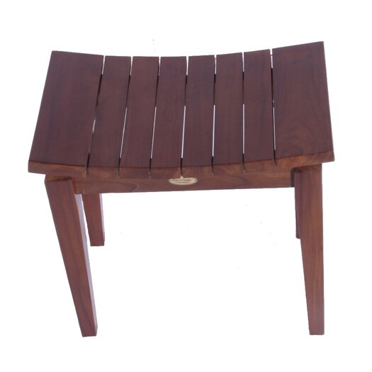 Decoteak Sojourn Asia Furniture Contemporary Teak Shower Bench