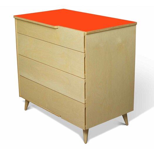 TrueModern 11 Ply 4 Drawer Dresser
