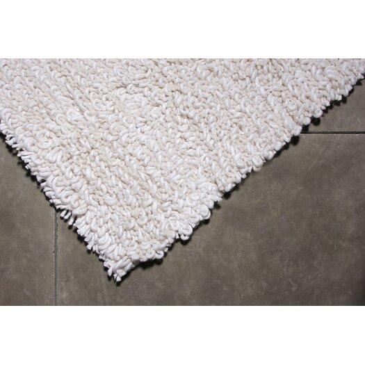 TrueModern Maca White Area Rug