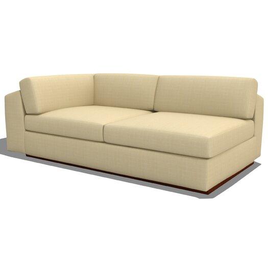 TrueModern Jackson Seater Armless Split Sofa