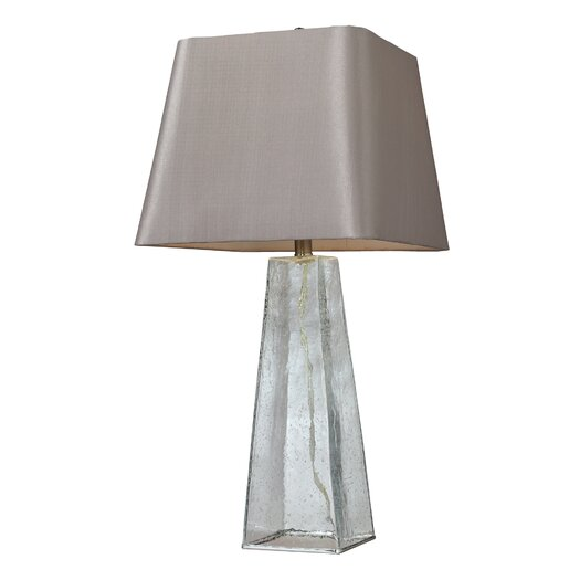 "HGTV Home Overexposed 30"" H Table Lamp with Empire Shade"
