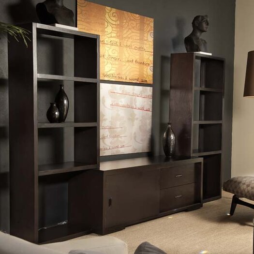 Allan Copley Designs Pavilion 3 Piece Entertainment Center