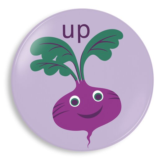 Jane Jenni Inc. Up Beet Plate