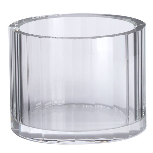 Lazy Susan USA Crystal Faceted Bowl