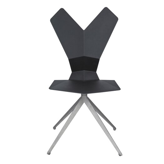 Tom Dixon Y Swivel Side Chair with Seat Pad