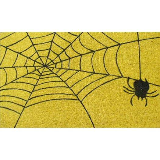 Home & More Spider Web Doormat