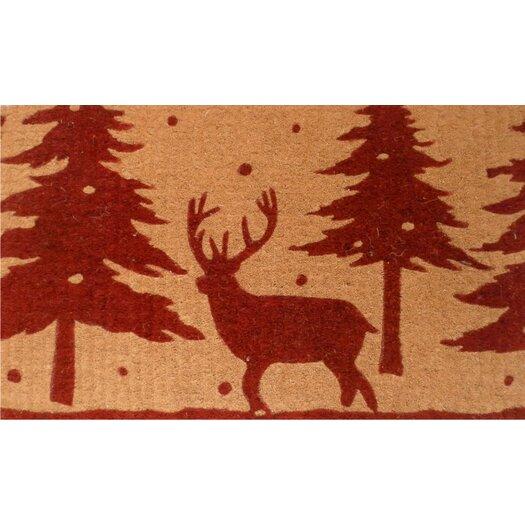 Home & More Christmas Reindeer Doormat