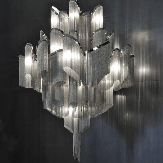 Terzani Stream 18 Light Chandelier