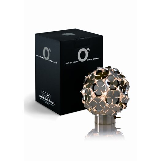 "Terzani Orten'Zia Rechargeable 5.1"" H Table Lamp with Sphere Shade"