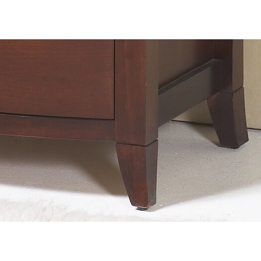 Modus Furniture Brighton 2 Drawer Nightstand