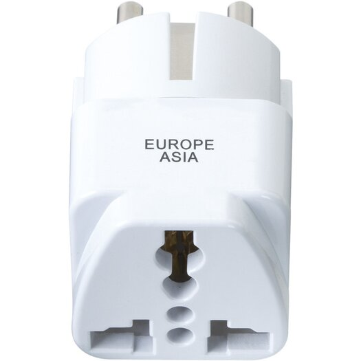 Go Travel North and South America to Europe Adapter Plug