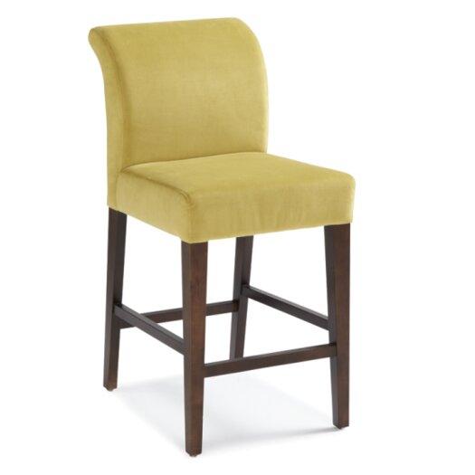 "Sunpan Modern Prado 26"" Bar Stool with Cushion"