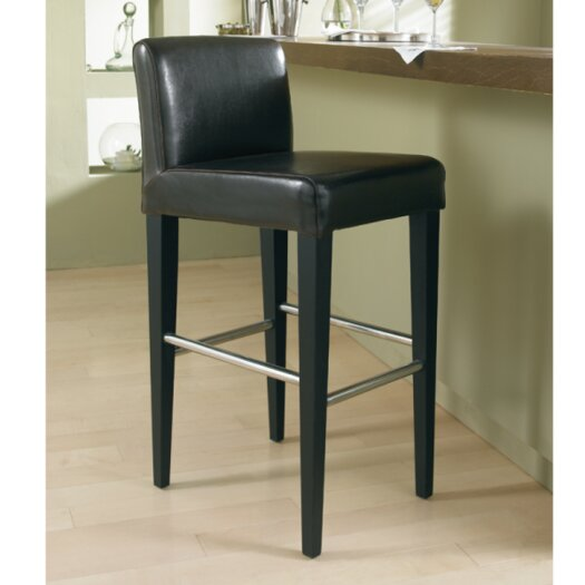 "Sunpan Modern Oriana 26"" Bar Stool with Cushion"