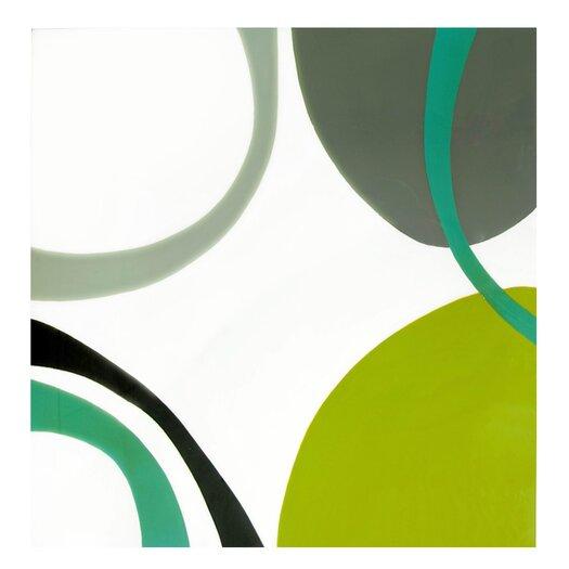 Sunpan Modern Gentle Curves Painting Print