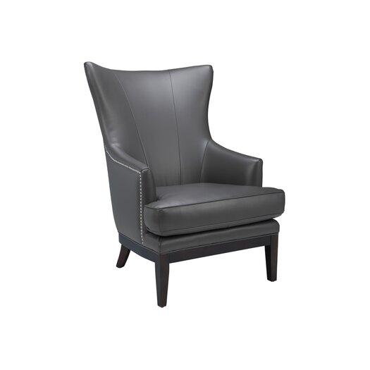 Sunpan Modern Reynaldo Faux Leather Arm Chair