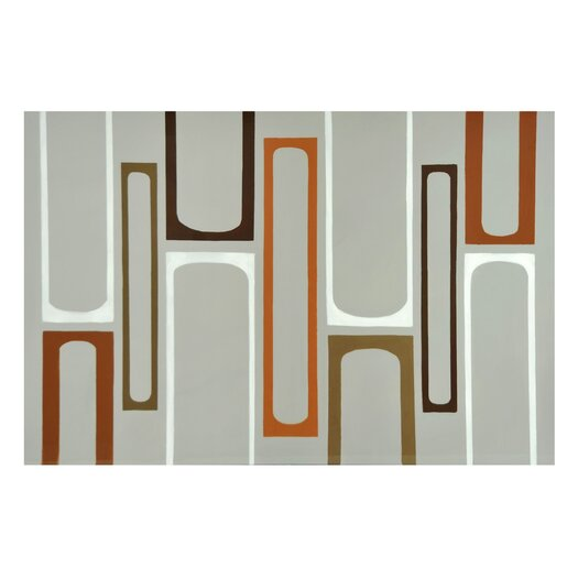 Sunpan Modern Stencil Lines Painting Print