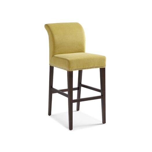 "Sunpan Modern Prado 30"" Bar Stool with Cushion"