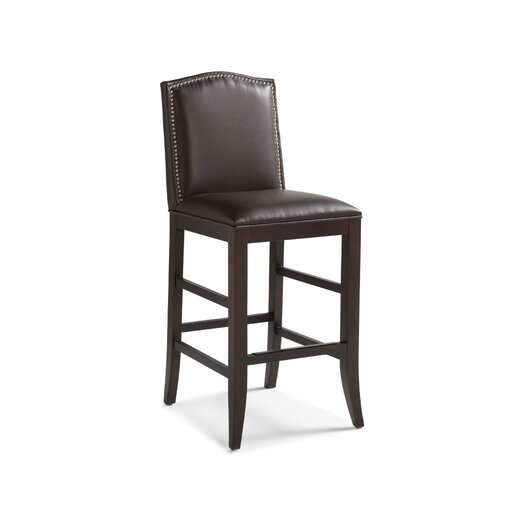 "Sunpan Modern Maison 30"" Bar Stool with Cushion"