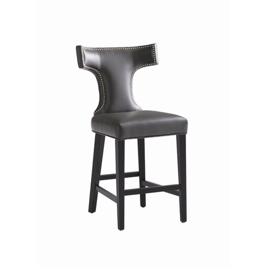 "Sunpan Modern Serafina 26"" Bar Stool with Cushion"