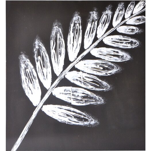 Sunpan Modern Leaf Painting Print