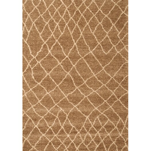 Abacasa Granada Medium Brown Terzo Area Rug
