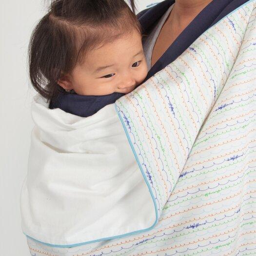 babyletto Alphabets Stroller Blanket