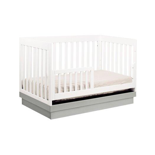 babyletto Acrylic Harlow 3-in-1 Convertible Crib