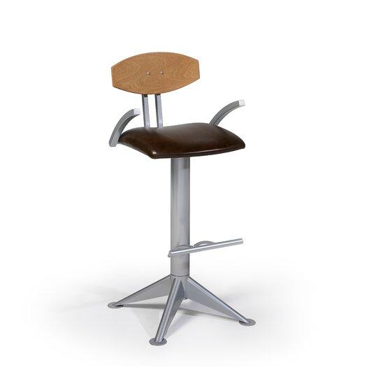 "Createch Cabra 30"" Swivel Bar Stool with Cushion"