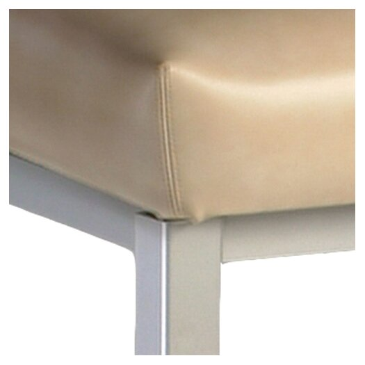 "Createch Baroni 30"" Bar Stool with Cushion"