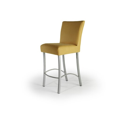 "Createch Angle 24"" Bar Stool with Cushion"