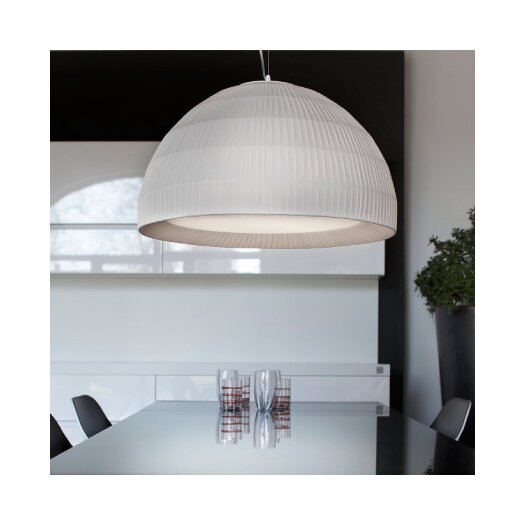 Masiero Tessuti Dome 1 Light Mini Pendant