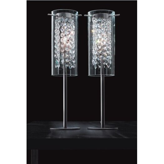 """Masiero Aissi 20.48"""" H Table Lamp with Drum Shade"""