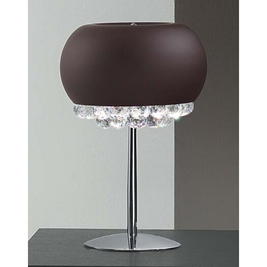 """Masiero Mir 17.7"""" H Table Lamp with Bowl Shade"""