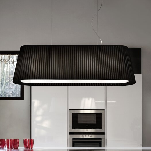 Masiero Tessuti Oval 5 Light Large Pendant