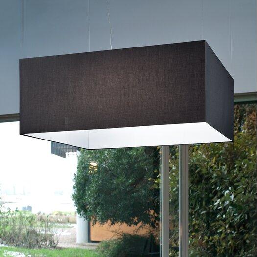 Masiero Tessuti Square 6 Light Pendant