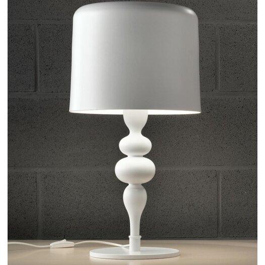 "Masiero Eva 21"" H Table Lamp with Drum Shade"