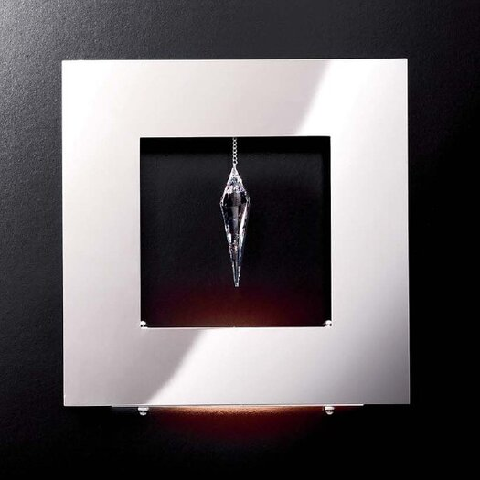 Masiero Click 1 Crystal Wall Sconce