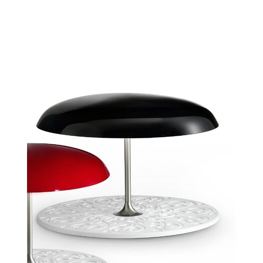 """Masiero Deco 13.8"""" H Table Lamp with Bowl Shade"""