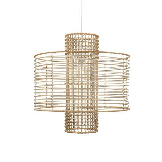 Selamat Deco 1 Light Hanging Drum Pendant