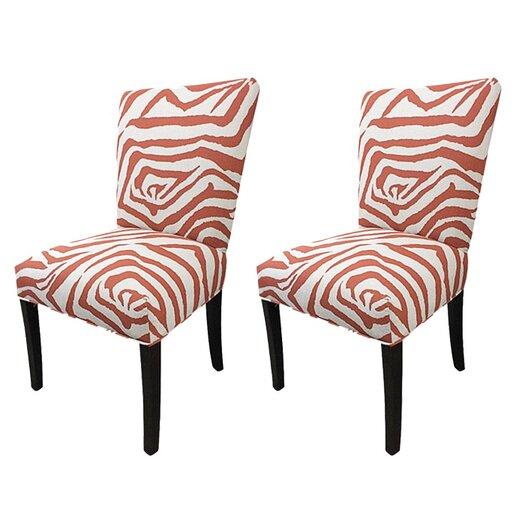 Sole Designs Julia Cotton Parson Chair