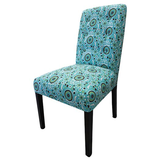 Sole Designs Kacey Suzani Cotton Parson Chair