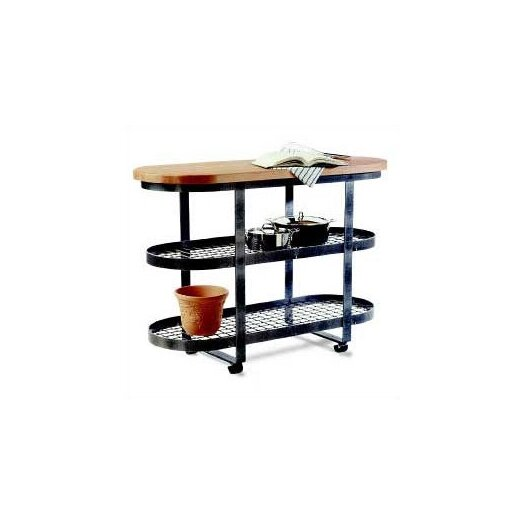 Enclume Premier Kitchen Island with Wood Top