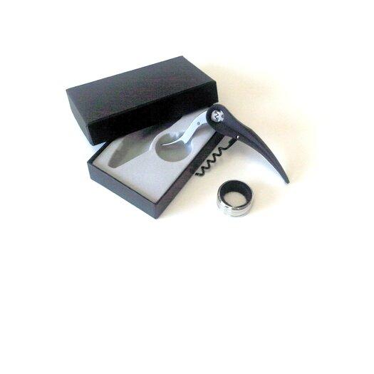 Cuisinox Corkscrew and Drip Catcher