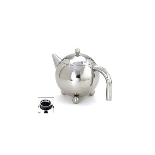 Cuisinox 1.59-qt. Footed Teapot with Infuser
